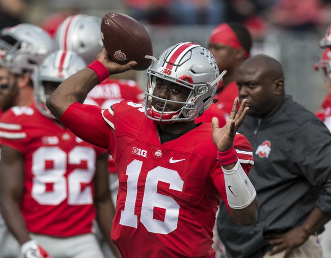 Ohio State vs. Indiana - 10/8/16 College Football Pick, Odds, and Prediction