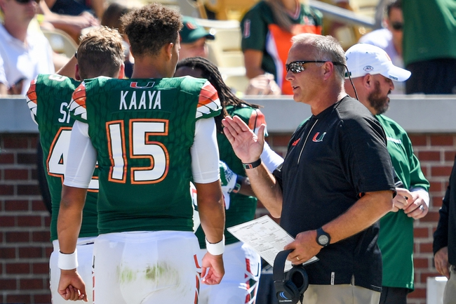 Florida State at Miami-FL - 10/8/16 College Football Pick, Odds, and Prediction