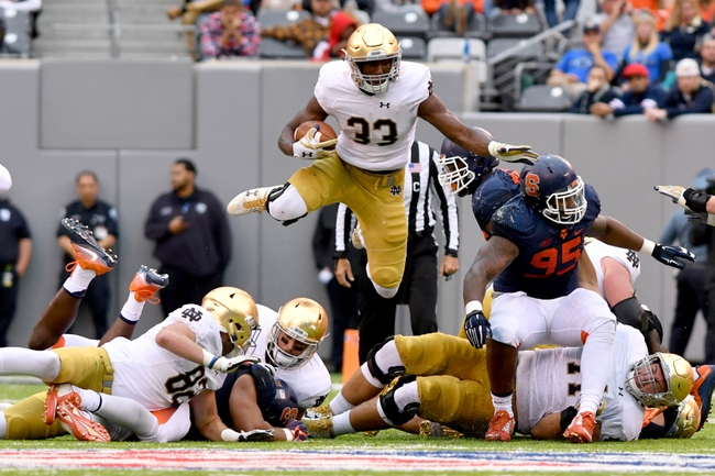 Notre Dame Fighting Irish at NC State Wolfpack - 10/8/16 College Football Pick, Odds, and Prediction