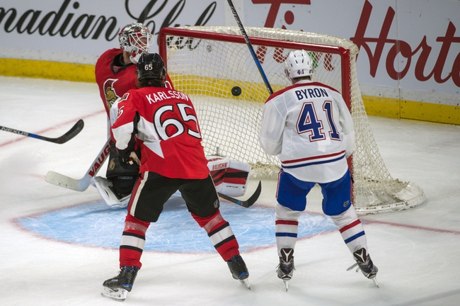 Ottawa Senators vs. Montreal Canadiens - 10/15/16 NHL Pick, Odds, and Prediction