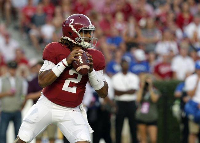 Alabama Crimson Tide at Arkansas Razorbacks - 10/8/16 College Football Pick, Odds, and Prediction