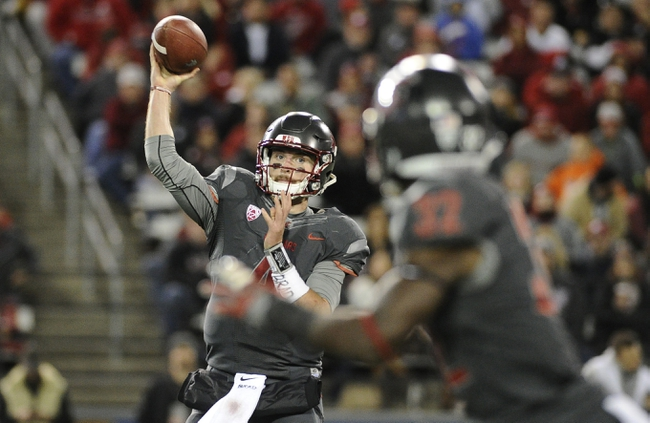 Washington State Cougars vs. UCLA Bruins - 10/15/16 College Football Pick, Odds, and Prediction