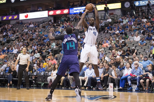 Dallas Mavericks at Charlotte Hornets - 12/1/16 NBA Pick, Odds, and Prediction
