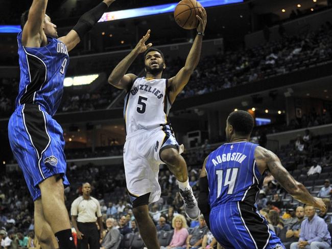 Orlando Magic at Memphis Grizzlies - 12/1/16 NBA Pick, Odds, and Prediction