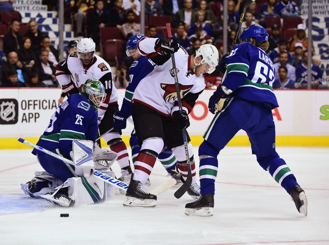 Vancouver Canucks vs. Arizona Coyotes - 11/17/16 NHL Pick, Odds, and Prediction