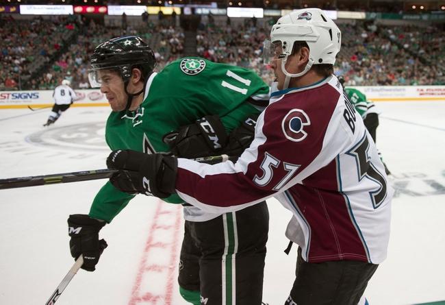 Colorado Avalanche vs. Dallas Stars - 10/15/16 NHL Pick, Odds, and Prediction