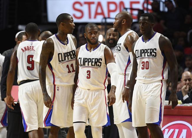 Portland Trail Blazers vs. Los Angeles Clippers - 10/13/16 NBA Preseason Pick, Odds, and Prediction