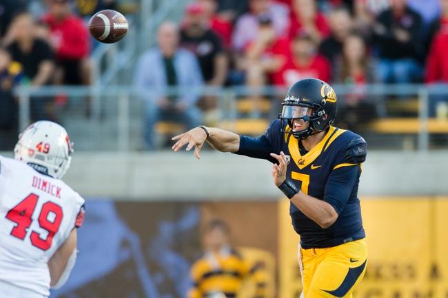 California Golden Bears vs. Oregon Ducks - 10/21/16 College Football Pick, Odds, and Prediction
