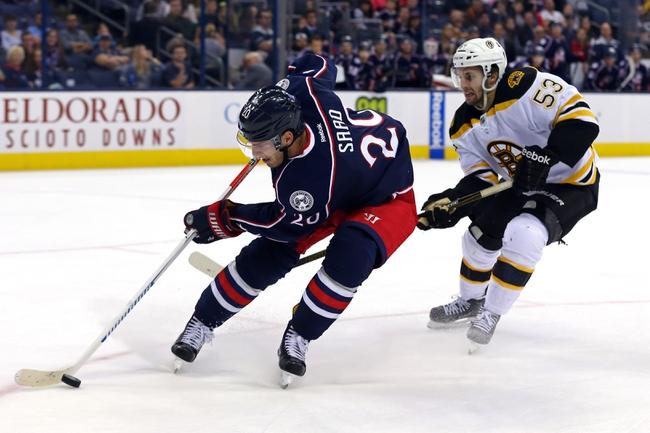 Columbus Blue Jackets vs. Boston Bruins - 10/13/16 NHL Pick, Odds, and Prediction
