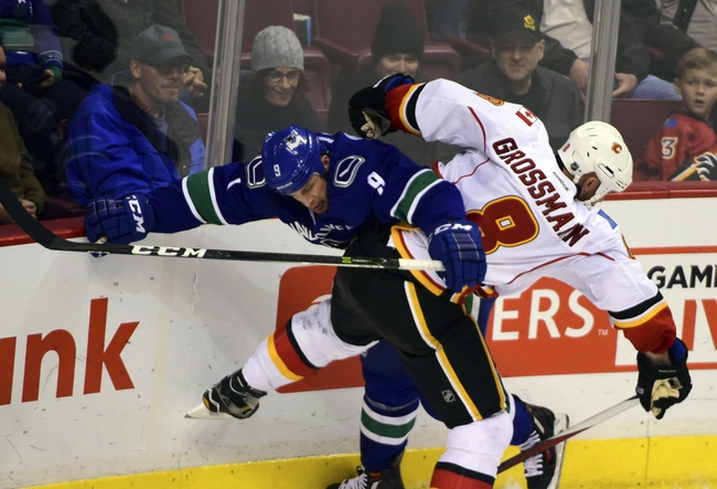 Vancouver Canucks vs. Calgary Flames - 10/15/16 NHL Pick, Odds, and Prediction