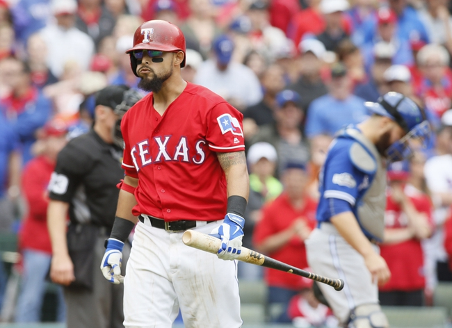 Toronto Blue Jays vs. Texas Rangers ALDS Game Three - 10/9/16 MLB Pick, Odds, and Prediction