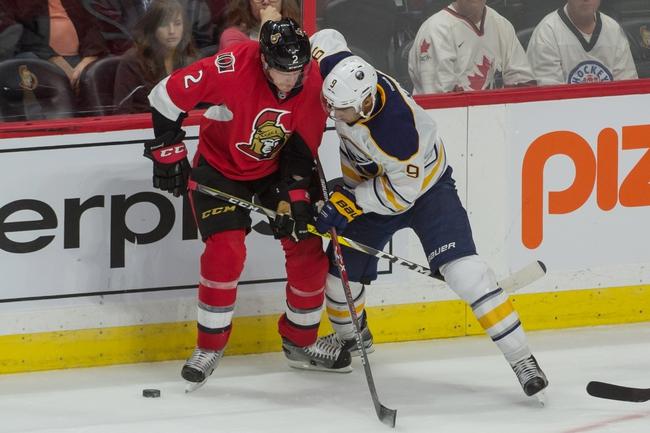Ottawa Senators vs. Buffalo Sabres - 11/5/16 NHL Pick, Odds, and Prediction
