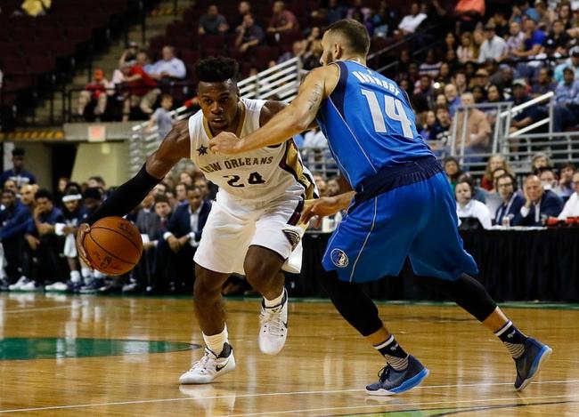 Dallas Mavericks vs. New Orleans Pelicans - 11/27/16 NBA Pick, Odds, and Prediction