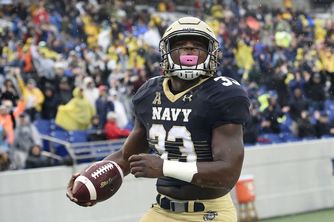 Navy vs. Memphis - 10/22/16 College Football Pick, Odds, and Prediction