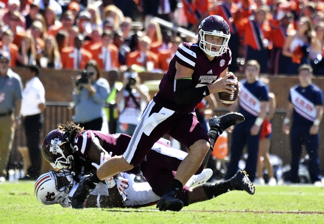 Mississippi State vs. Texas A&M - 11/5/16 College Football Pick, Odds, and Prediction