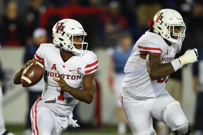 Houston vs. Tulsa - 10/15/16 College Football Pick, Odds, and Prediction