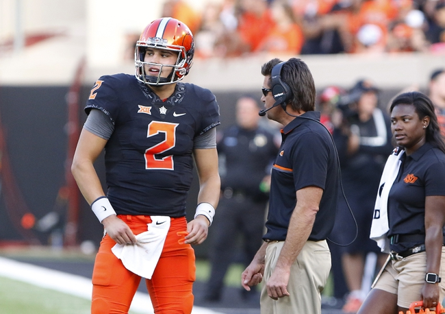 Oklahoma State vs. West Virginia - 10/29/16 College Football Pick, Odds, and Prediction
