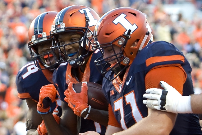 Illinois vs. Minnesota - 10/29/16 College Football Pick, Odds, and Prediction