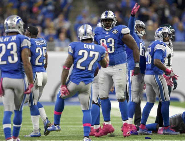 Los Angeles Rams at Detroit Lions - 10/16/16 NFL Pick, Odds, and Prediction
