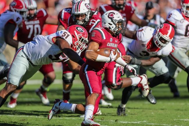 South Carolina vs. Massachusetts - 10/22/16 College Football Pick, Odds, and Prediction