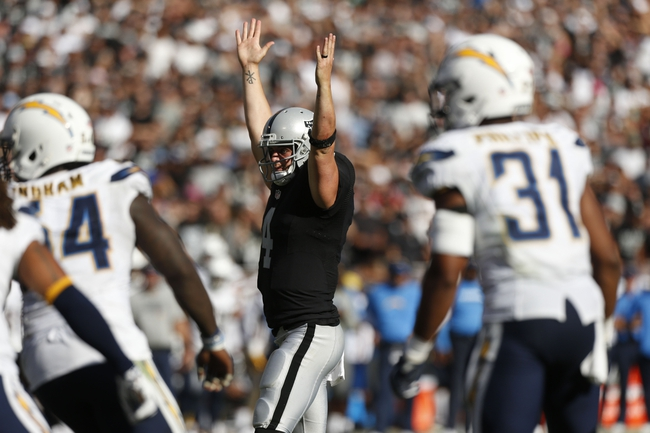 Kansas City Chiefs vs Oakland Raiders Betting Odds