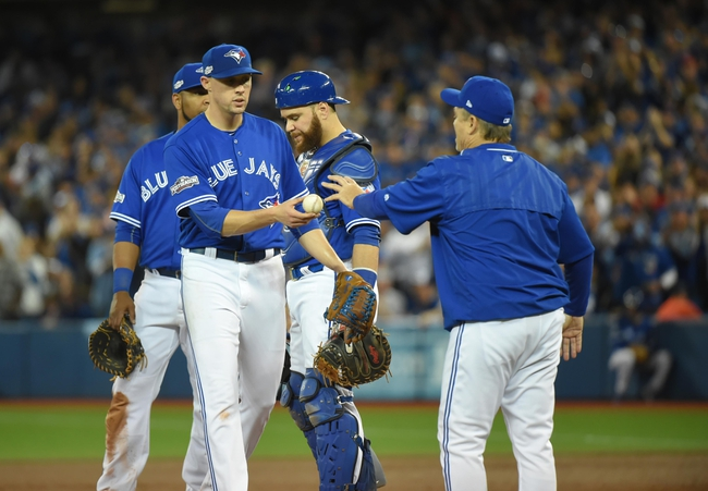 Blue Jays vs. Indians - 10/18/16 MLB ALCS Game Four Pick, Odds, and Prediction