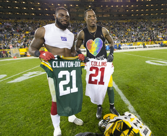 Green Bay Packers vs. New York Giants - 1/8/17 NFL Pick, Odds, and Prediction