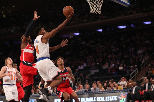Knicks In Too Big A Hole, Lose To Wizards