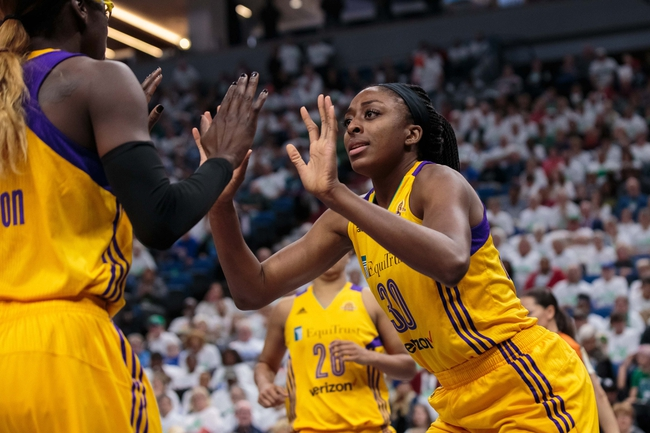 Sparks Rout Lynx 92-75; Move Within Game of WNBA Title