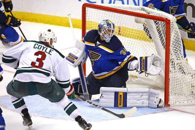 St. Louis Blues vs. Minnesota Wild - 11/26/16 NHL Pick, Odds, and Prediction