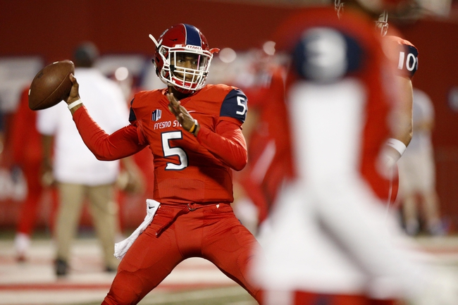 Utah State vs. Fresno State - 10/22/16 College Football Pick, Odds, and Prediction