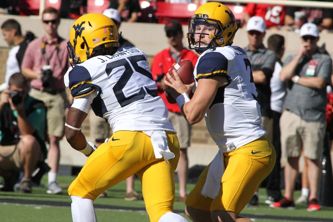 TCU Horned Frogs at West Virginia Mountaineers - 10/22/16 College Football Pick, Odds, and Prediction