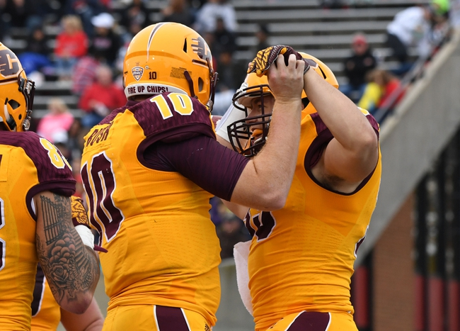Central Michigan vs. Ohio - 11/15/16 College Football Pick, Odds, and Prediction