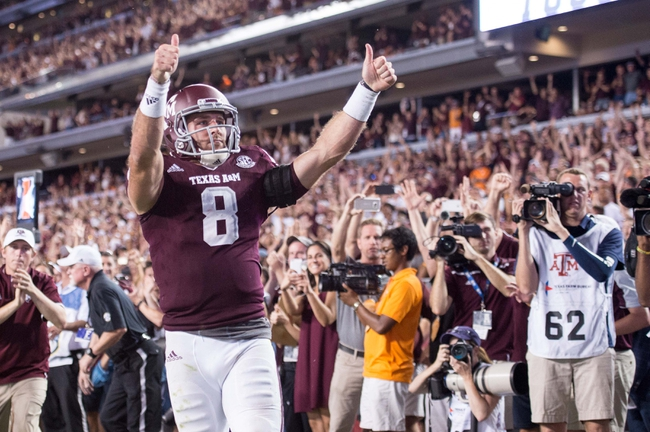 Texas A&M vs. New Mexico State - 10/29/16 College Football Pick, Odds, and Prediction