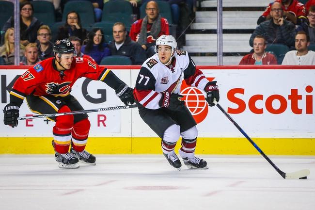 Calgary Flames vs. Arizona Coyotes - 11/16/16 NHL Pick, Odds, and Prediction