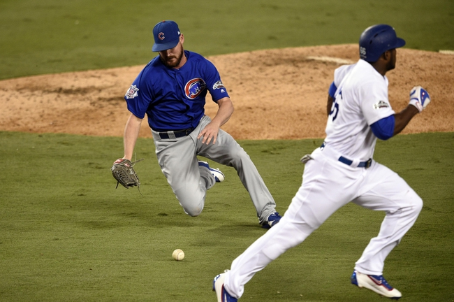 Los Angeles Dodgers vs. Chicago Cubs NLCS Game 4 - 10/19/16 MLB Pick, Odds, and Prediction