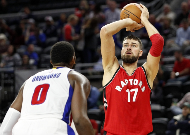 Toronto Raptors vs. Detroit Pistons - 10/26/16 NBA Pick, Odds, and Prediction