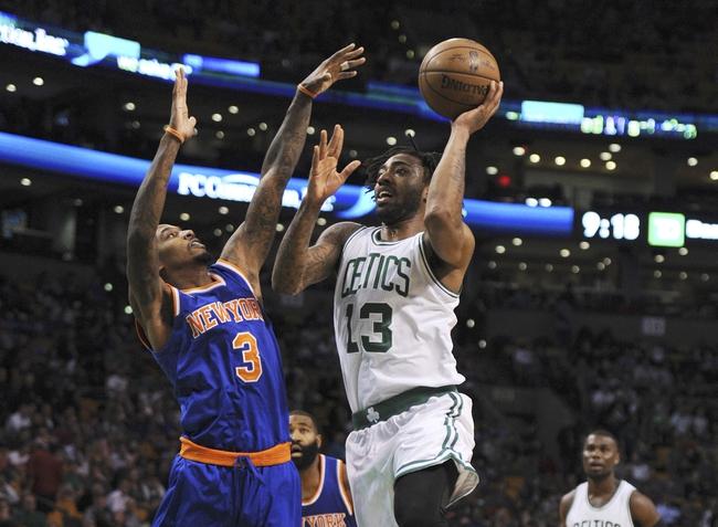Boston Celtics vs. New York Knicks - 11/11/16 NBA Pick, Odds, and Prediction