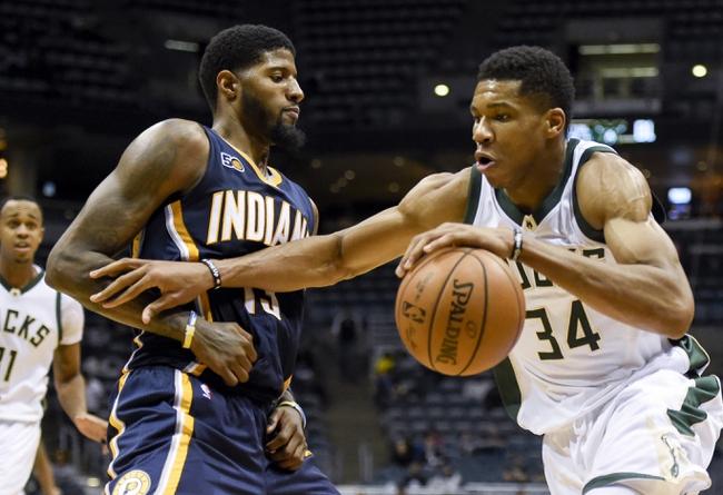 Milwaukee Bucks vs. Indiana Pacers - 11/3/16 NBA Pick, Odds, and Prediction