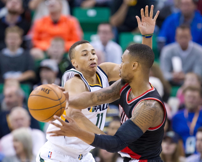 Jazz lead Trail Blazers in first quarter