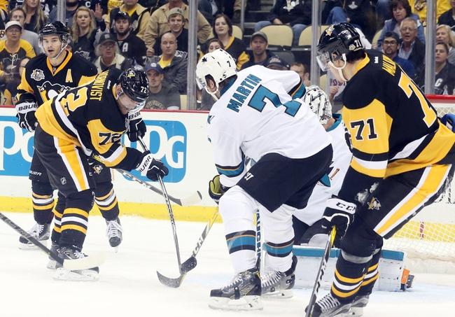 San Jose Sharks vs. Pittsburgh Penguins - 11/5/16 NHL Pick, Odds, and Prediction