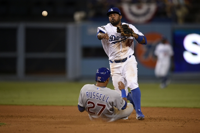 Los Angeles Dodgers at Chicago Cubs NLCS Game 6 - 10/22/16 MLB Pick, Odds, and Prediction
