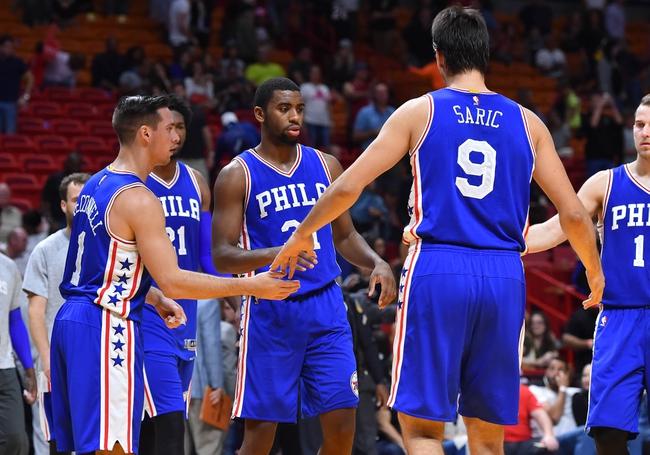 Philadelphia 76ers vs. Miami Heat - 11/21/16 NBA Pick, Odds, and Prediction