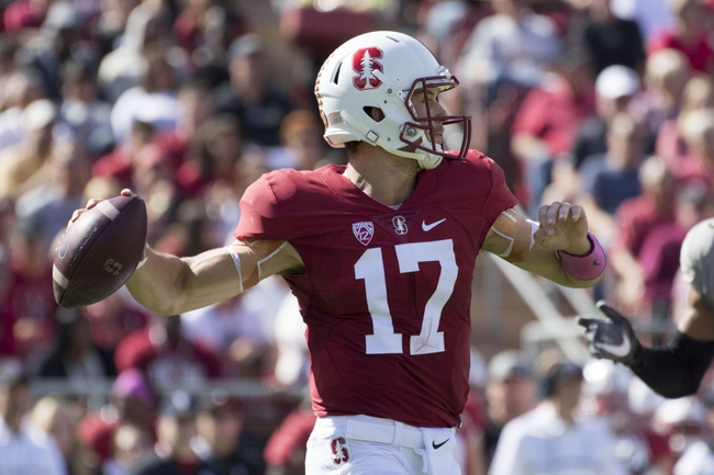 Arizona Wildcats vs. Stanford Cardinal - 10/29/16 College Football Pick, Odds, and Prediction