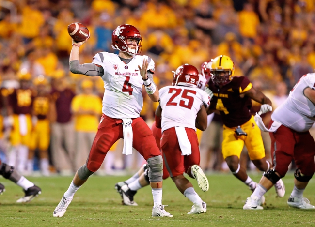 Oregon State Beavers vs. Washington State Cougars - 10/29/16 College Football Pick, Odds, and Prediction