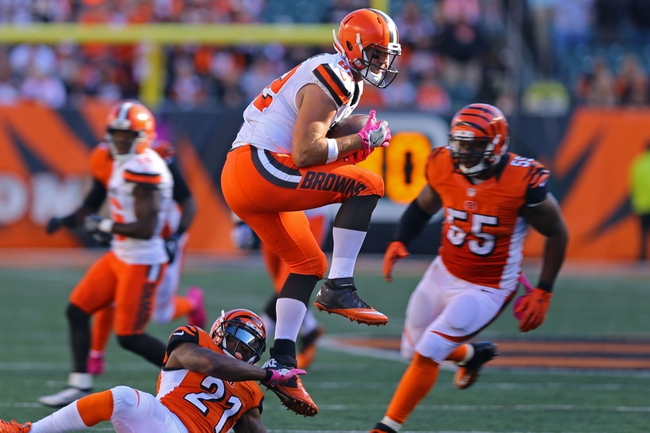 Bengals head to Cleveland among NFL interception leaders
