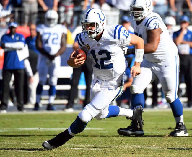 Indianapolis Colts vs Tennessee Titans Betting Odds