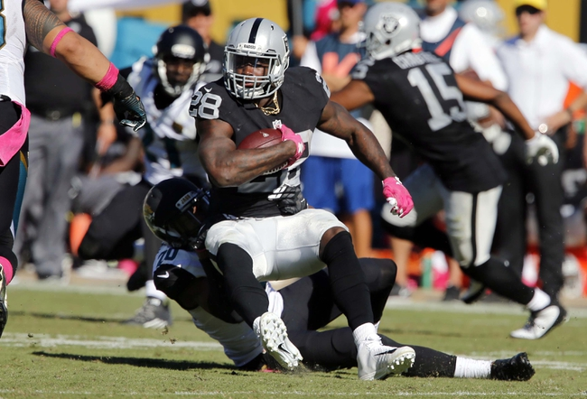 Oakland Raiders at Tampa Bay Buccaneers  - 10/30/16 NFL Pick, Odds, and Prediction