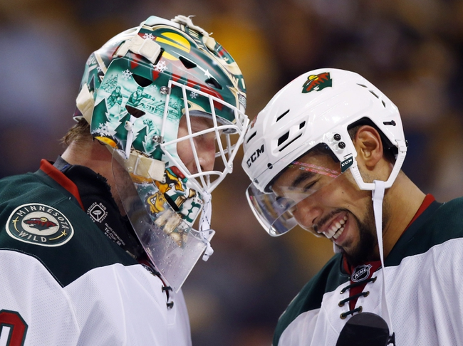 Minnesota Wild vs. Boston Bruins - 11/17/16 NHL Pick, Odds, and Prediction