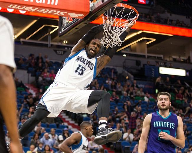 Minnesota Timberwolves vs. Charlotte Hornets - 11/15/16 NBA Pick, Odds, and Prediction